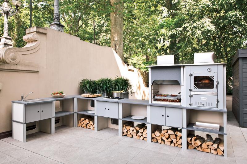 Notizie sistemi modulari per cucine esterne dalle aziende - Cucine in muratura esterne ...