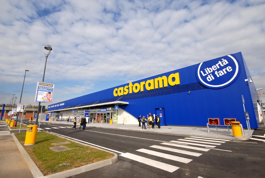 Notizie castorama riapre a carugate e cambia look altre for Castorama roma